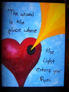 attachment wound and light rumi 12-13